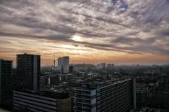 Rotterdam horisont Fotografering för Bildbyråer