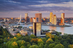 Rotterdam. Royalty Free Stock Photos