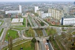 Rotterdam innercity in Netherlands. Rotterdam innercity in the Netherlands Stock Photos