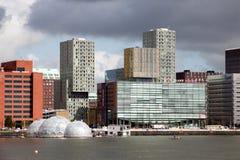 Rotterdam Kop van Zuid Stock Foto's