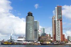 Rotterdam - Kop van Zuid Royalty Free Stock Images