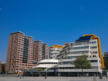 Rotterdam Library Stock Photo