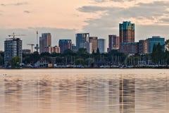 Rotterdam Linia horyzontu Obraz Royalty Free