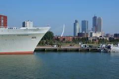 Rotterdam linia horyzontu Obrazy Royalty Free