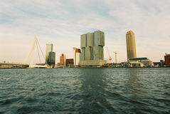 Rotterdam linia horyzontu Obraz Stock