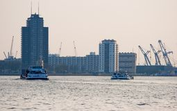 Rotterdam living and industry Royalty Free Stock Photography