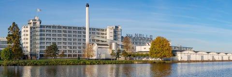 Rotterdam, los Países Bajos - octubre de 2018: Opinión la UNESCO ind imagenes de archivo