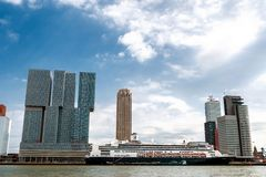 Rotterdam - The Manhattan on the Maas Stock Photos