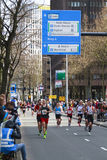 Rotterdam Marathon Royalty Free Stock Images