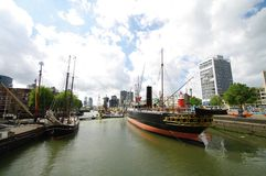Rotterdam. Mariniers museum of rotterdam in netherland Royalty Free Stock Photography
