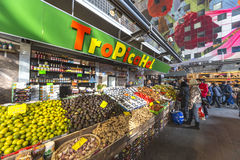 Rotterdam Market Hall building Royalty Free Stock Images