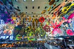 Rotterdam Market Hall Ceiling Royalty Free Stock Image