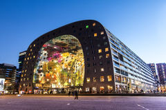 Rotterdam-Markt Hall Stockfotos