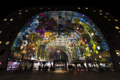 Rotterdam Markthal Stock Images