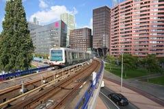 Rotterdam Metro Station. Metro station Maashaven in Rotterdam, Holland stock photos