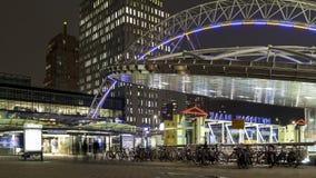 Rotterdam metro station Royalty Free Stock Images