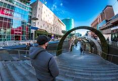Rotterdam mitt Fotografering för Bildbyråer