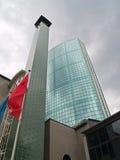 Rotterdam, modernes Unternehmensgebäude Lizenzfreies Stockfoto