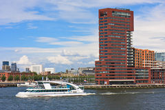 Rotterdam in Motion royalty free stock photos