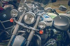 ROTTERDAM, NEDERLAND - SEPTEMBER 2 2018: De motorfietsen zijn shini royalty-vrije stock foto