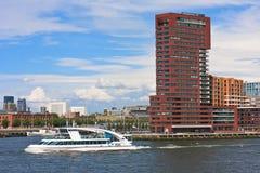 Rotterdam nel movimento fotografie stock libere da diritti
