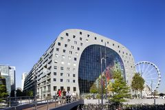 Markthal in Rotterdam Royalty Free Stock Image