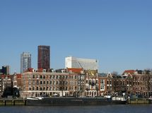Rotterdam in the Netherlands Stock Photos