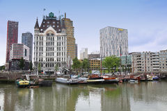 ROTTERDAM, THE NETHERLANDS - 18 AUGUST: Rotterdam is a city mode Stock Photography