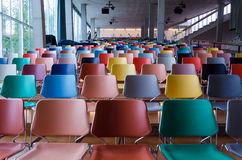 Rotterdam, Netherlands - May 9, 2015: Auditorium of Kunsthal museum Royalty Free Stock Photo