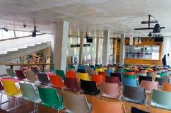 Rotterdam, Netherlands - May 9, 2015: Auditorium of Kunsthal museum Stock Images