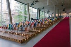 Rotterdam, Netherlands - May 9, 2015: Auditorium of Kunsthal museum in Rotterdam Royalty Free Stock Photo