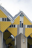 Rotterdam. NETHERLANDS - MAY 16, 2017: Cube houses  are a set of innovative houses built in  and Helmond in the Netherlands, designed by architect Piet Blom Royalty Free Stock Images