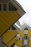 Rotterdam. NETHERLANDS - MAY 16, 2017: Cube houses  are a set of innovative houses built in  and Helmond in the Netherlands, designed by architect Piet Blom Stock Photography
