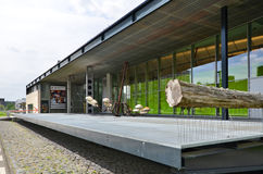 Rotterdam, Netherlands - May 9, 2015: The Kunsthal museum in Museum in rotterdam Royalty Free Stock Image