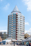 ROTTERDAM, NETHERLANDS - May 9, 2015:Pencil tower and cube houses Stock Image