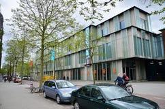 Rotterdam, Netherlands - May 9, 2015: People visit Museum Boijmans Van Beuningen in Rotterdam Stock Photos
