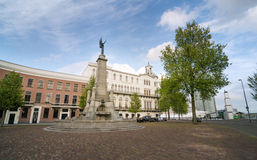 Rotterdam, Netherlands - May 9, 2015: Wereldmuseum in Rotterdam, Royalty Free Stock Photography