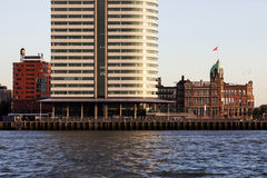 Rotterdam - old and new architecture Royalty Free Stock Photography