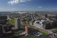 Rotterdam outlook Royalty Free Stock Photo