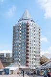 ROTTERDAM, PAÍSES BAIXOS - 9 de maio de 2015: Casas da torre e do cubo do lápis Imagem de Stock