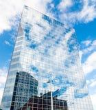 Rotterdam, Países Bajos - 7 de agosto de 2011: rascacielos Imagen de archivo libre de regalías
