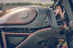 ROTTERDAM, PAÍSES BAJOS - 2 DE SEPTIEMBRE DE 2018: Las motocicletas son shini fotografía de archivo
