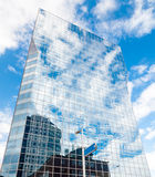 Rotterdam, Paesi Bassi - 7 agosto 2011: grattacielo Immagine Stock Libera da Diritti