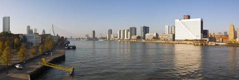 Rotterdam Panorama Stock Image