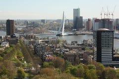 Rotterdam-Panorama Lizenzfreies Stockbild
