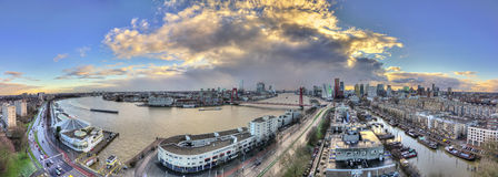 Rotterdam panorama Stock Photo