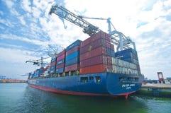 Rotterdam port zdjęcie stock