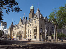 Rotterdam's City Hall, Netherlands  Royalty Free Stock Images