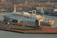 Rotterdam ship Royalty Free Stock Photography