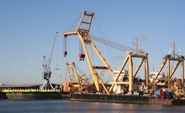 Rotterdam Shipyard Stock Image